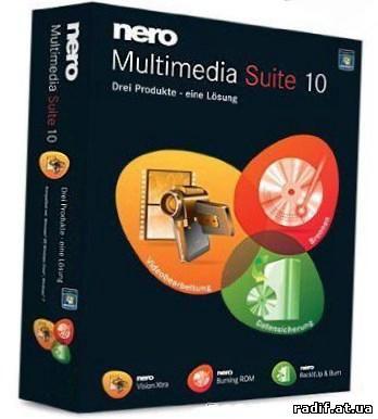Nero 10 - представляет более новые возможности записи. дисков и создание об